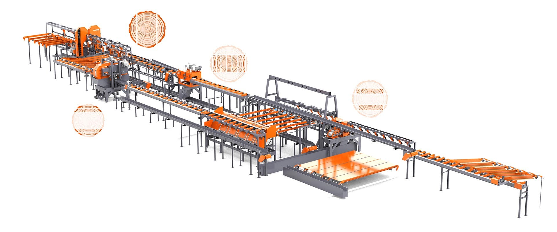 TITAN Log Processing Line