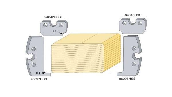 Radius 4 Decking